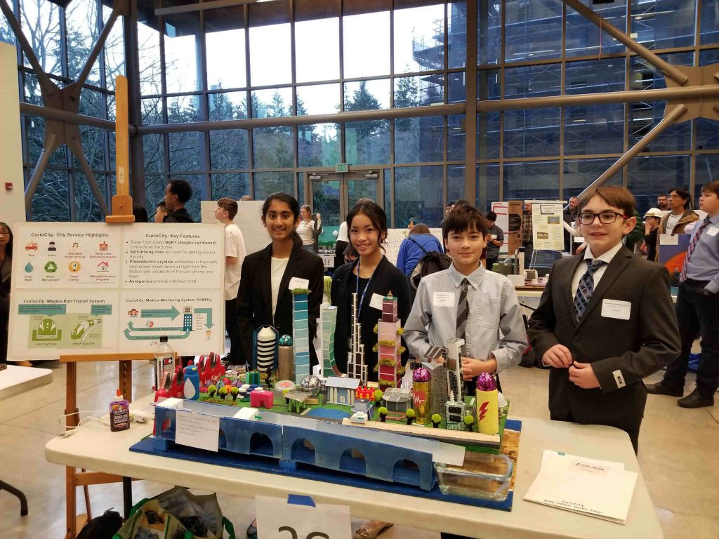 """Valley Catholic Middle School Students Participate in National """"Future City"""" Competition"""