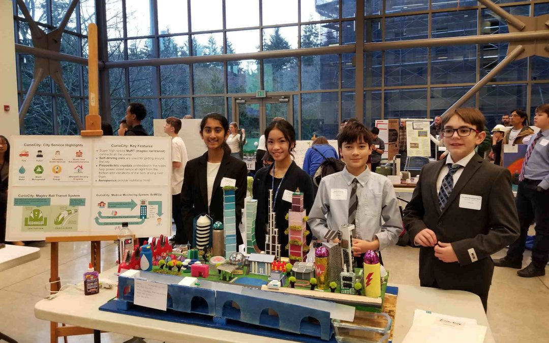 "Valley Catholic Middle School Students Participate in National ""Future City"" Competition"