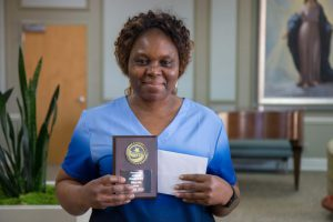 March 2020 Employee of the Month Adele Makuete