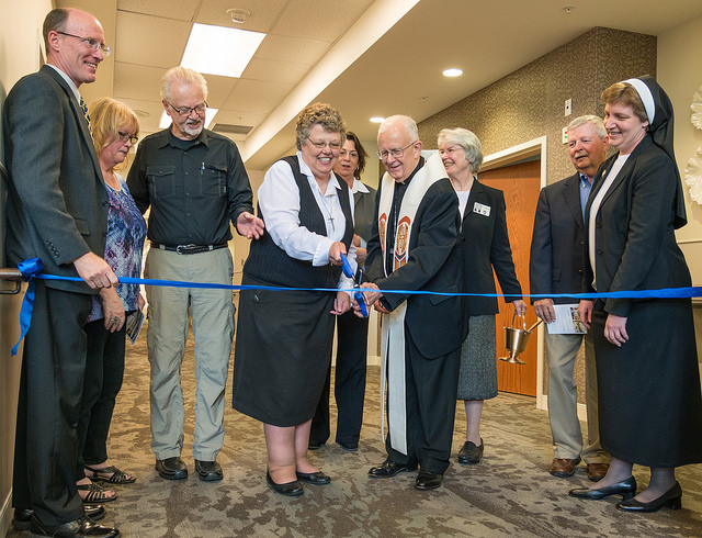 Maryville South Unit ribbon cutting