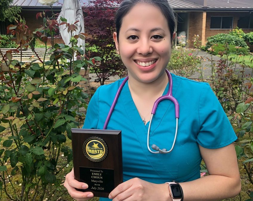 July Employee of the Month: Emily Choun, LPN