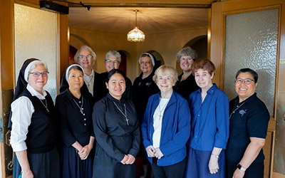 Sisters who belong to the SSMO Liturgy Committee
