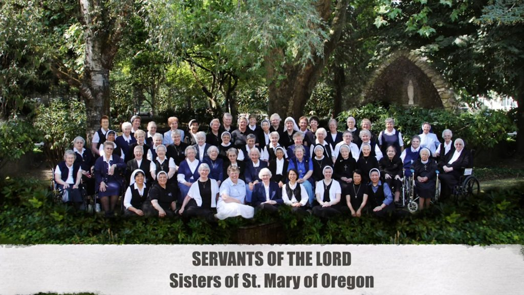 Group picture of the Sisters of St. Mary of Oregon